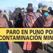 Puno: Paro de 48 horas por contaminación permanente de la minera Aruntani