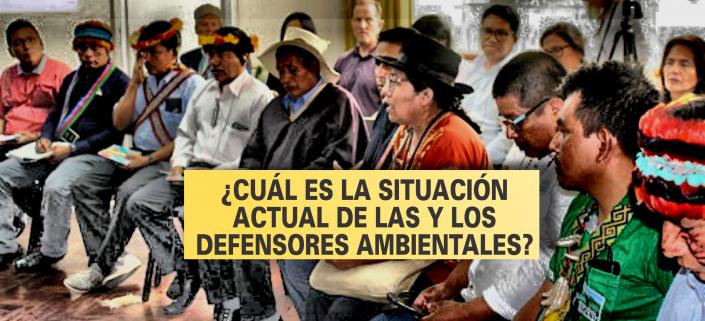 Situación de los defensores ambientales Perú - 2021