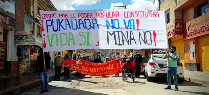 Huancavelica: Exigen que MINEM rechace proyecto minero Pukaqaqa Sur